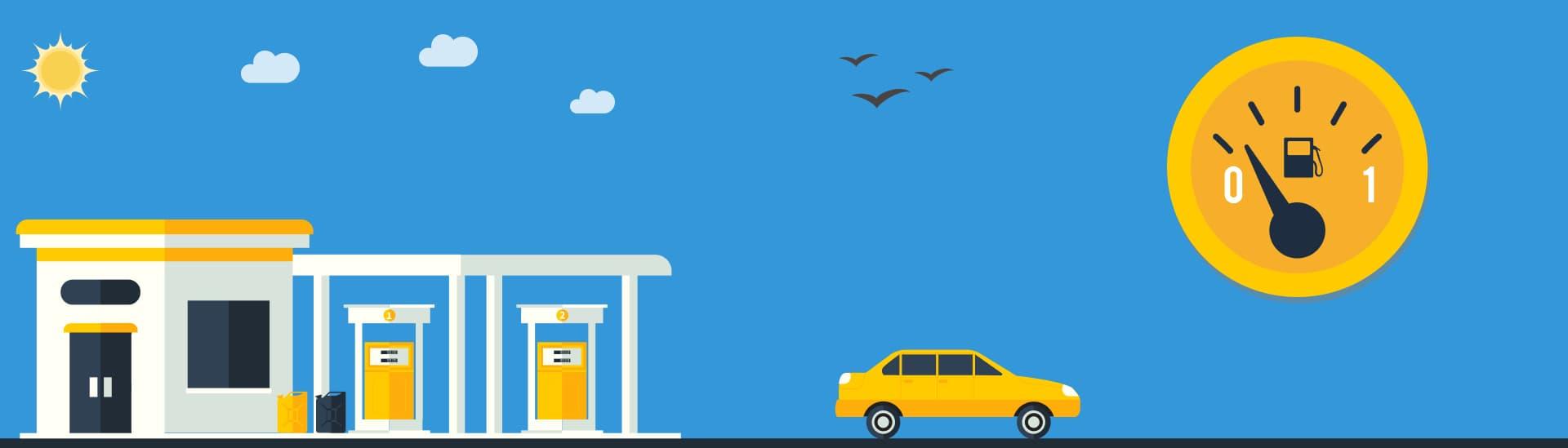 контроль топлива в автопарке