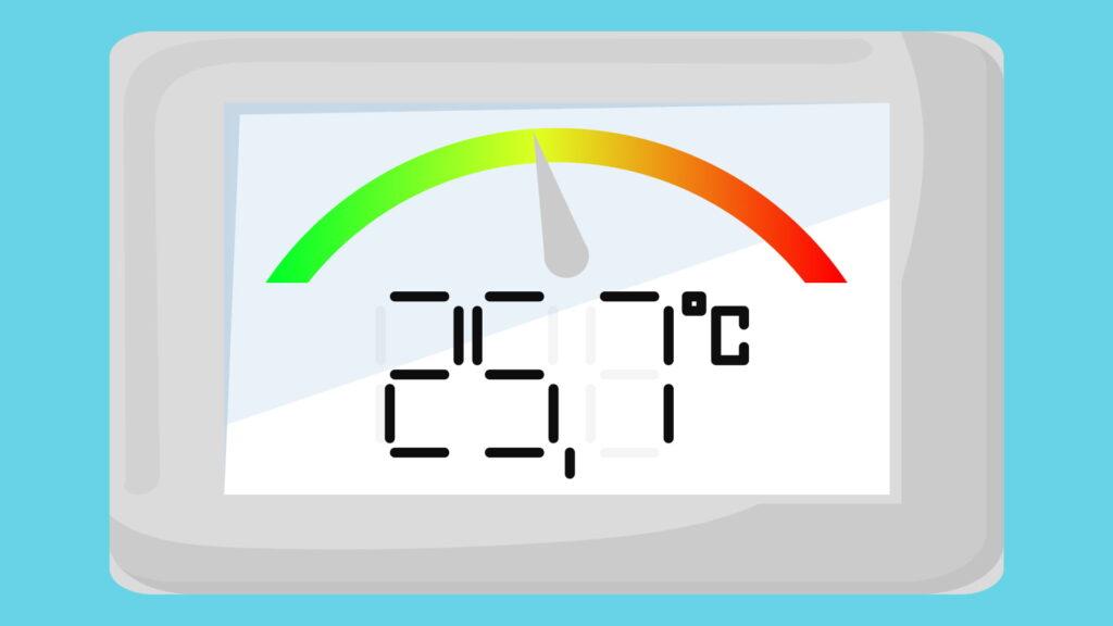 Контроль температуры в рефрижераторе