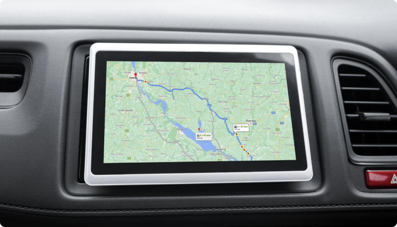 Функції GPS контролю на транспорті